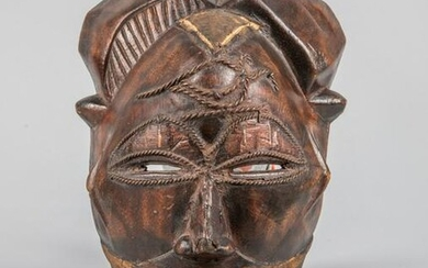 Collectible African Wood Wall Hanging Mask