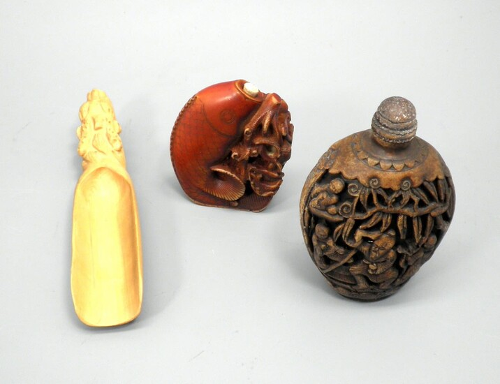 Collection of 3 Old Chinese Items