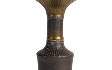 DAME LUCIE RIE   BOTTLE VASE WITH FLARING LIP