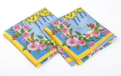 DOLCE E GABBANA TROPICO ITALIANO TWO HANDKERCHIEF 2017 A lot...
