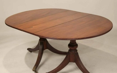Federal Mahogany Diminutive Dining Table