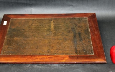French Louis Philippe traveling lap desk