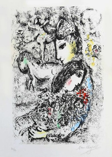 Marc Chagall 1887-1985 (Russian, French) Les