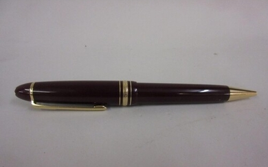 Montblanc for Tiffany & Company burgundy ballpoint pen