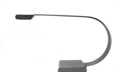 Relco Mid-Century Italian Metal Curved Table Lamp