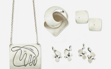 Ruth Berridge, Group of Studio jewelry