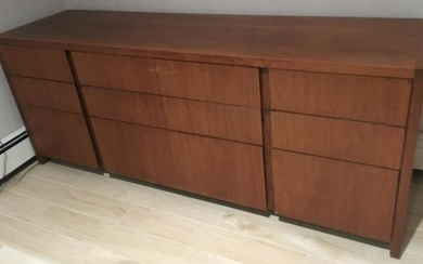 Vintage Mid Century Modern Console Table