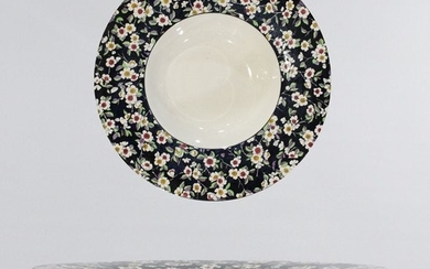 Wedgwood Etruria England Floral Border Center Bowl