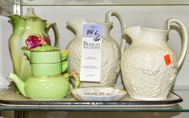 Wedgwood Pitchers and Teapots