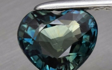 1.10 ct. Natural Greenish Blue Sapphire - AUSTRALIA