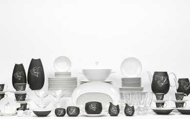 """114 Pc Mixed Maker """"Papageno"""" Dinner Service"""