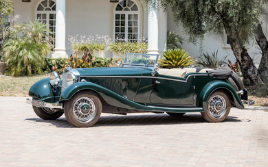 1934 Mercedes-Benz 500K Four-Passenger Tourer