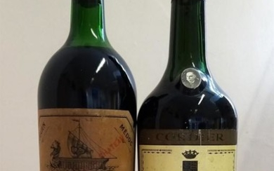 1969 Chateau Beycheville/1966 Chateau Talbot, St Julien