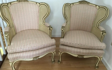 2 Child Size Wingback Arm Chairs