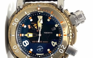 Visconti - Abyssus Pro Dive 3000M Bronze Limited Edition 68/133 - W108-01-131-1408 - Men - NEW