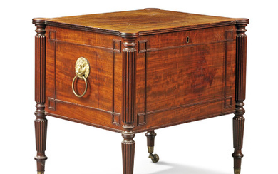 A REGENCY MAHOGANY CELLARETTE, ATTRIBUTED TO GILLOWS OF LANCASTER, EARLY 19TH CENTURY