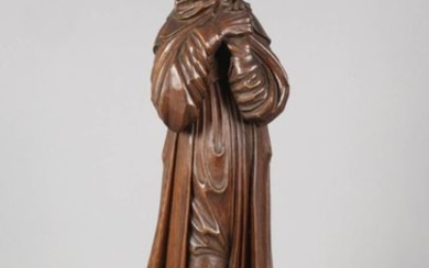 Carved holy figure