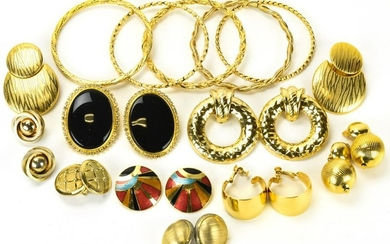 Collection Gold Tone Costume Jewelry