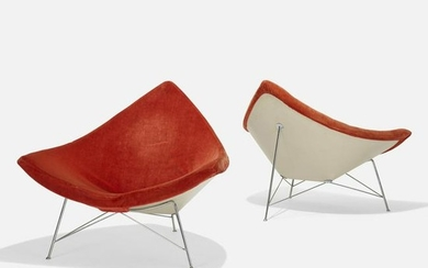 George Nelson & Associates, Coconut chairs, pair