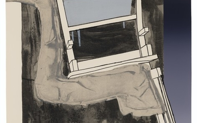 JASPER JOHNS (B. 1930), Leg and Chair, from: Fragment - According to What