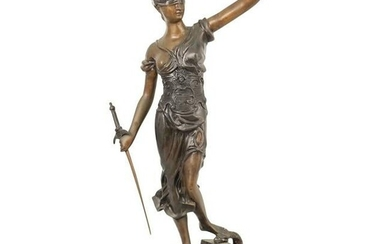 Lady Of Justice Bronze