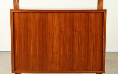 MID CENTURY MODERN MAHOGANY BAR COUNTER C.1960