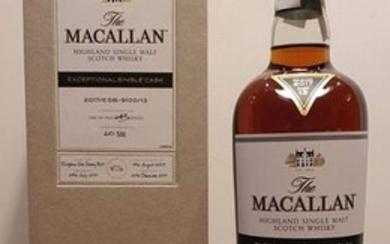 Macallan 2003 14 years old Exceptional Single Cask 2017/ESB-9100/13 one of 643 bottles - 700ml