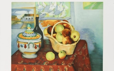Paul Cezanne: Still Life with Apples