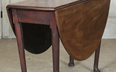 Queen Anne Style Drop Leaf Table