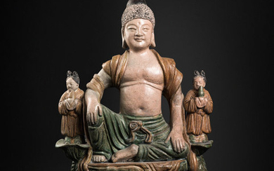 Sculpture - Terracotta - China - Ming Dynasty (1368-1644)
