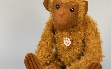 Steiff Monkey 1903 Replica Limited Edition. 2004. From