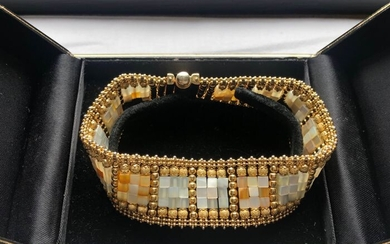 Sun Day - 18 kt. Gold, Yellow gold - Bracelet Pearl