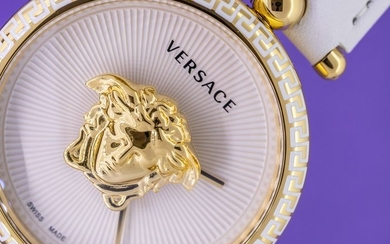 Versace - Palazzo Empire White 39 MM - VCO040017 - Women - Brand New