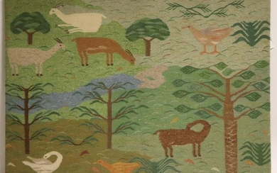 Woven Tapestry Panel
