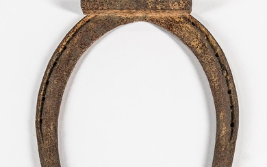 Wrought Iron Horseshoe/Farrier Trade Sign