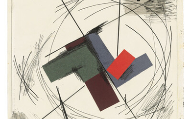 Yuri Annenkov (1889-1974), Two abstract compositions