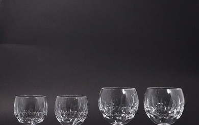 16 Pieces Crystal Glass Sherry Cocktail Stemware 2 Size