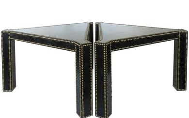 20th Century Regency Style Lacquered Parchment and