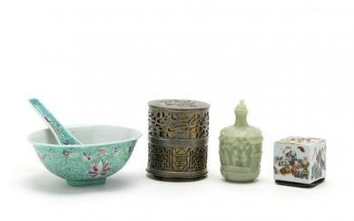 A Group of Asian Decorative Accessories