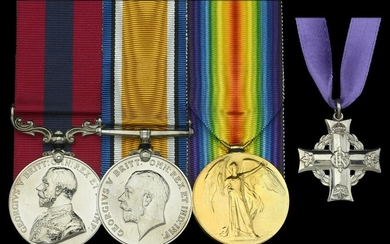 A fine Collection of Medals to the 78th Battalion