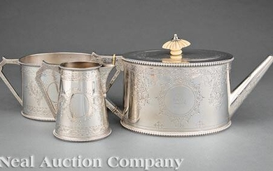 A.B. Savory & Sons Sterling Silver Tea Service
