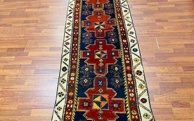 Antique Persian tribal Northwest Runner-3158