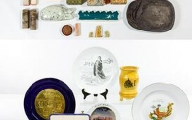 Asian Stone Seal, Paste and Decorative Assortment