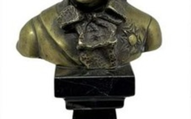 Bust of eighteenth-century character, the nineteenth