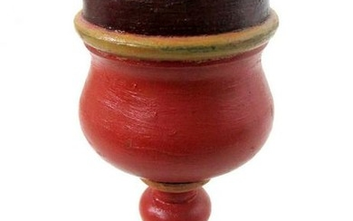 C 1820-40 Painted Goblet