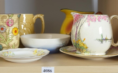 COLLECTION OF CHINA AND PORCELAIN INCLUDING ROYAL WINTON, EMPIREWARE, ETC