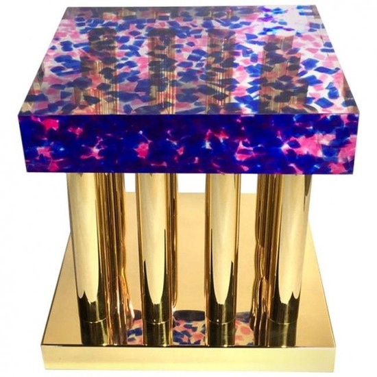 Coffee Table Model Space Dust by Studio Superego, Italy