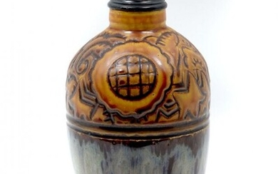 FRENCH GEORGE CONDE FOR MOUGIN ART POTTERY VASE