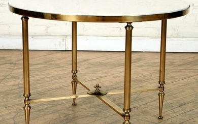 FRENCH NEOCLASSICAL STYLE BRASS TABLE C.1950
