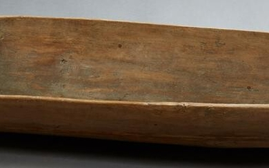 French Provincial Hand Carved Pine Dough Bowl, 19th c.